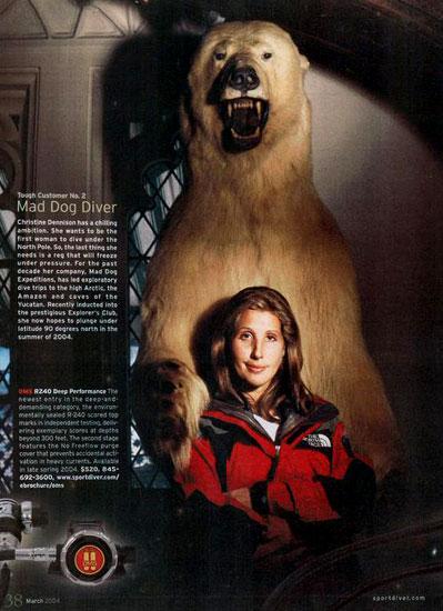 Christine Dennison American Explorer And Documentary